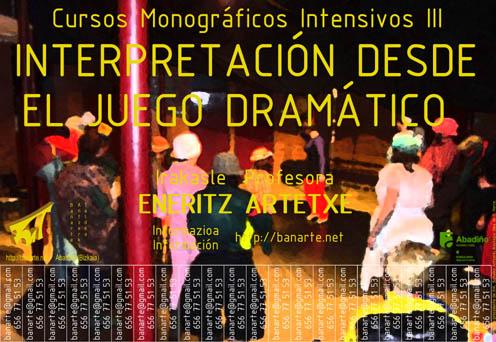 Cartel Interpretación Eneritz.